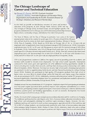 Chicago Landscape CTE Cover