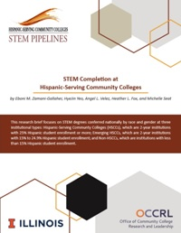 STEM Completion at Hispanic-Serving Community Colleges