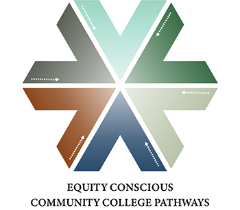Equity Conscious Community College Pathways Project Logo