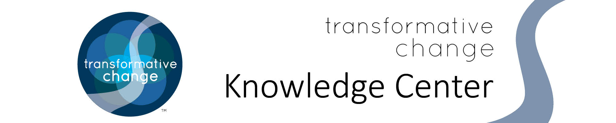 Transformative Change Initiative header image
